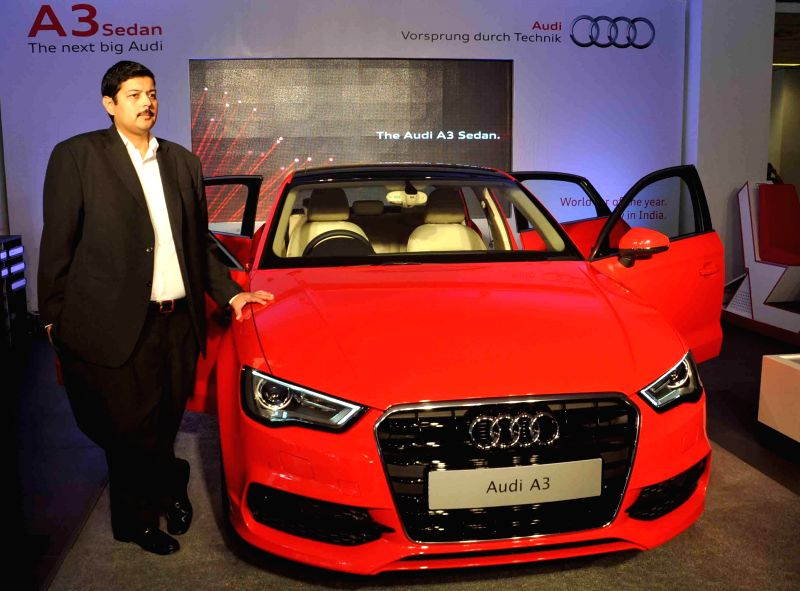 Launch of Audi A3 in Hyderabad on Aug 8, 2014.