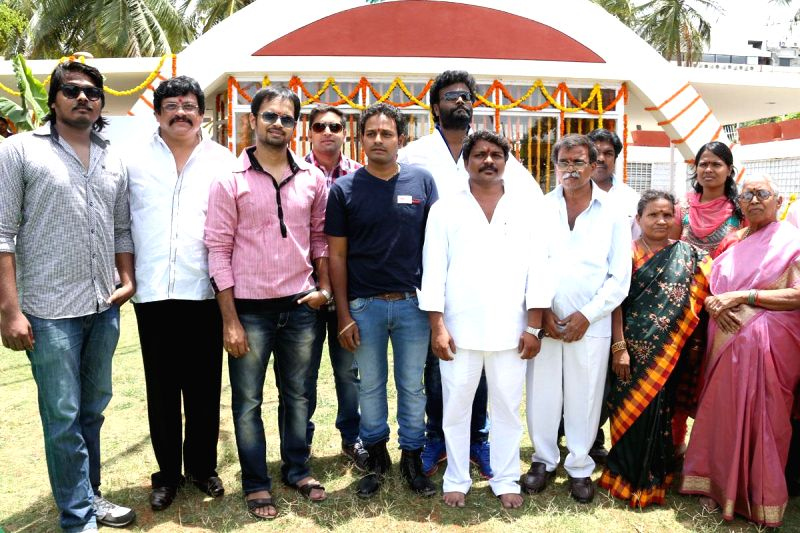 Launch of Telugu film Nachhalaa.