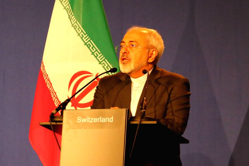 Iran's Foreign Minister Javad Zarif attends a press conference in Lausanne, Switzerland, on April 2, 2015. Top negotiators on Thursday concluded the Iran nuclear ... - Javad Zarif
