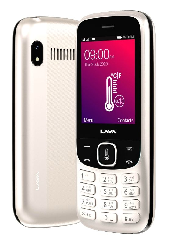 Lava Pulse 1 feature phone with contactless thermometer launched .