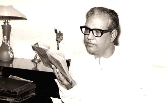 Leading Urdu poet Majrooh Sultanpuri who had a stellar career in the Hindi film industry too