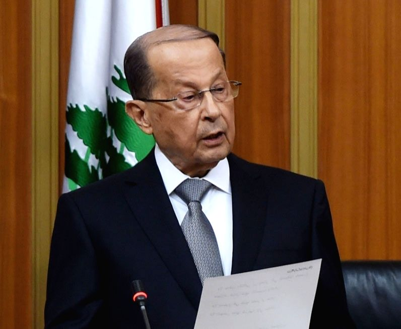 Lebanon President Michel Aoun. (File Photo: IANS)