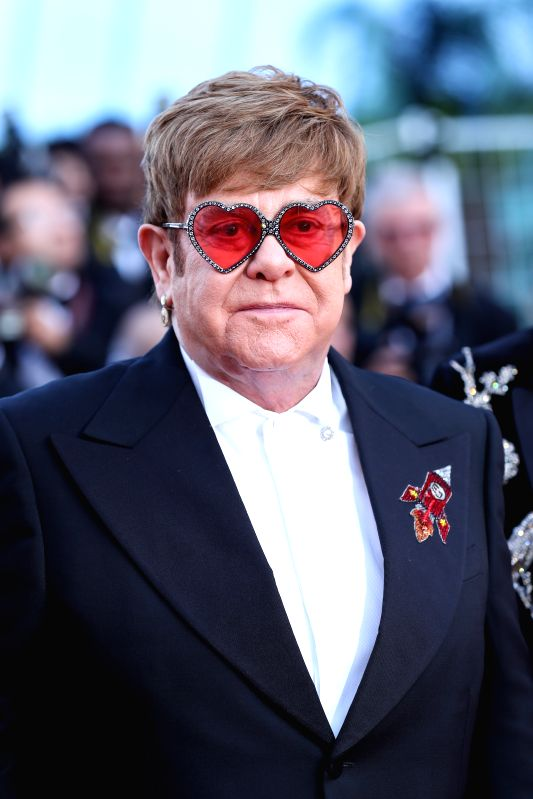 Legendary singer Elton John says he is relishing quality time with husband David Furnish and their sons amid the coronavirus crisis.(Xinhua/Zhang Cheng/IANS)