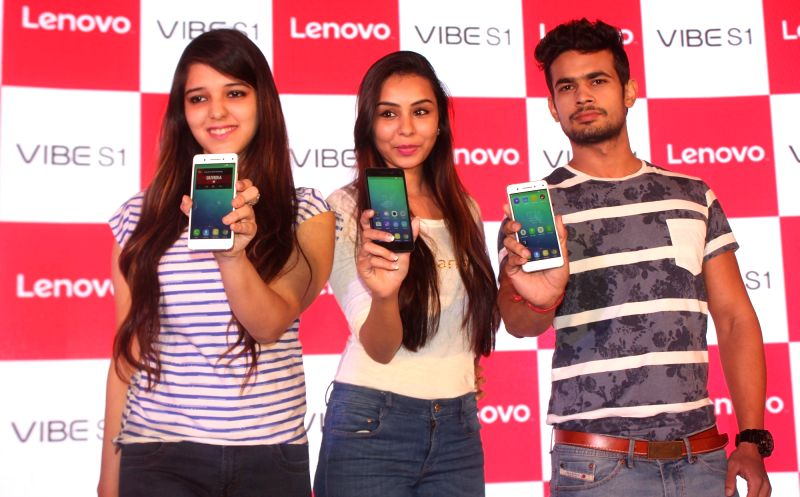 "Lenovo launches ""Vibe S1"" in New Delhi, on Nov 23, 2015."