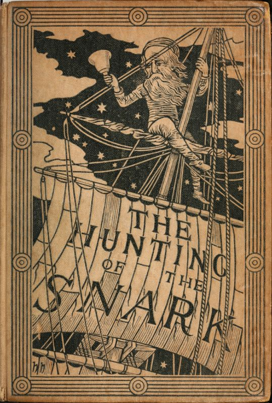 Lewis Carroll's 'The Hunting of the Snark' - the first edition's cover