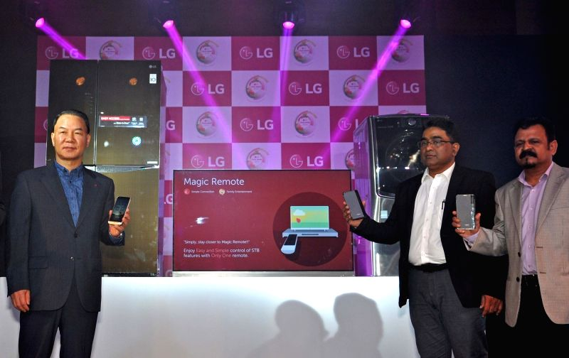 LG India managing director Ki Wan Kim during launch of LG products at LG Tech Show 2016 in Kolkata on July 28, 2016. - K