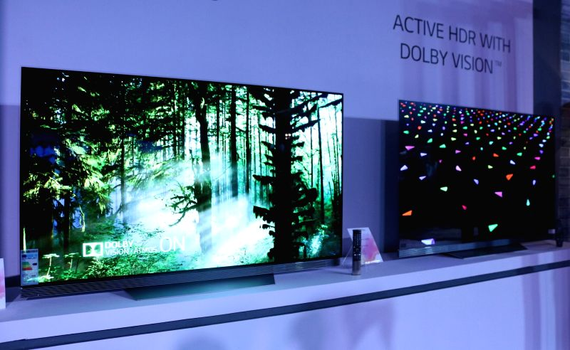 LG launches OLED 4K TV.