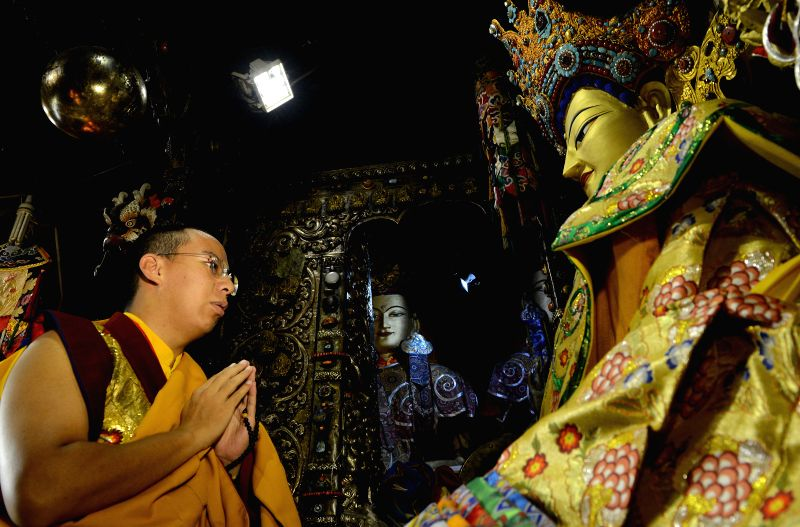 The 11th Panchen Lama Bainqen Erdini Qoigyijabu, who is also a member of the Standing Committee of the Chinese People's Political Consultative Conference (CPPCC) ...