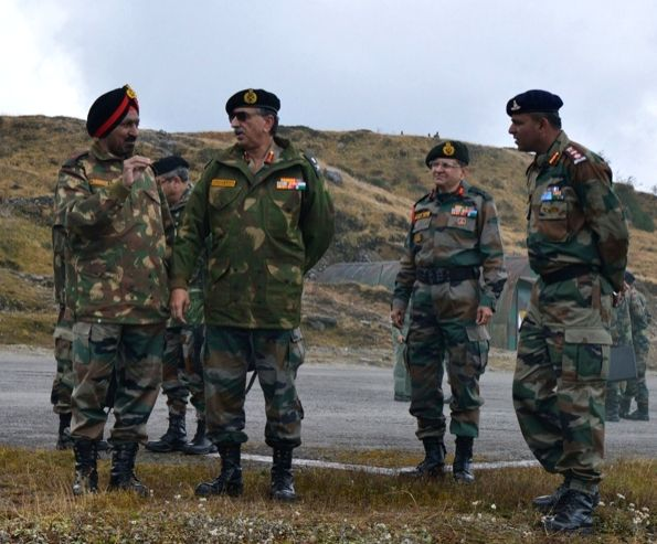 Lieutenant General Praveen Bakshi, General Officer Commanding-in-Chief Eastern Command arrives for a three day visit to review the operational preparedness and the security situation in ...
