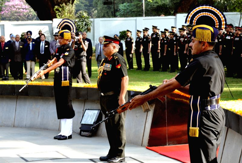 Lieutenant General RP Rai during the 10th Reunion and 255th Anniversary of Army Service Corps at Indian Army ASC Centre and College, in Bengaluru on Dec 7, 2015.