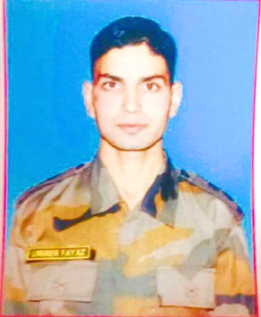Lieutenant Ummer Faiyaz, who was found dead at  in Jammu and Kashmir's Shopian district on May 10, 2017. He was abducted by militants when he had gone to attend a family wedding. (File ...