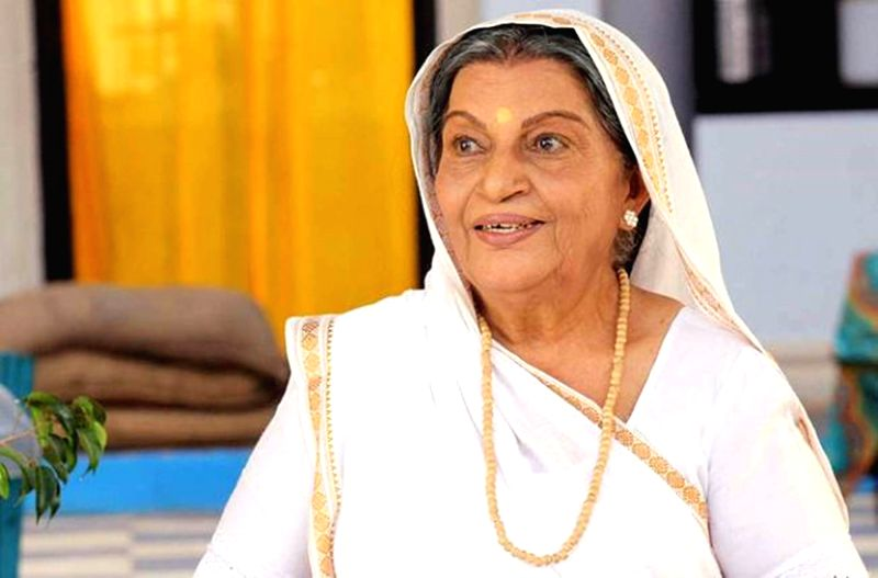 "Lily Patel as Nani in ""Main Maayke Chali Jaaungi Tum Dekhte Rahiyo - Patel"