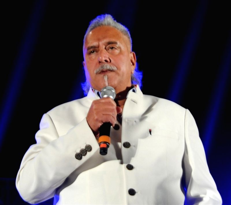 Liquor baron Vijay Mallya, wanted in India for defaulting on over Rs 8,000 crore in bank loans, was arrested in London on April 18, 2017. Within hours, a court granted him bail. (File Photo: IANS) - Vijay Mallya