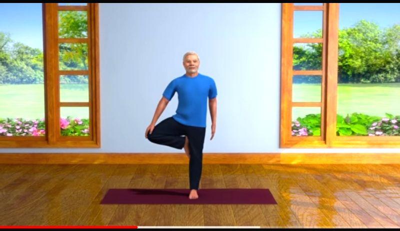 Lockdown Diaries: Modi shares fitness routine, yoga videos.