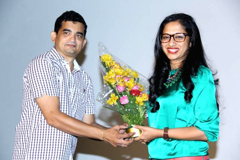 Logo launch of telugu movie `Welcome to America` (Photo: IANS).