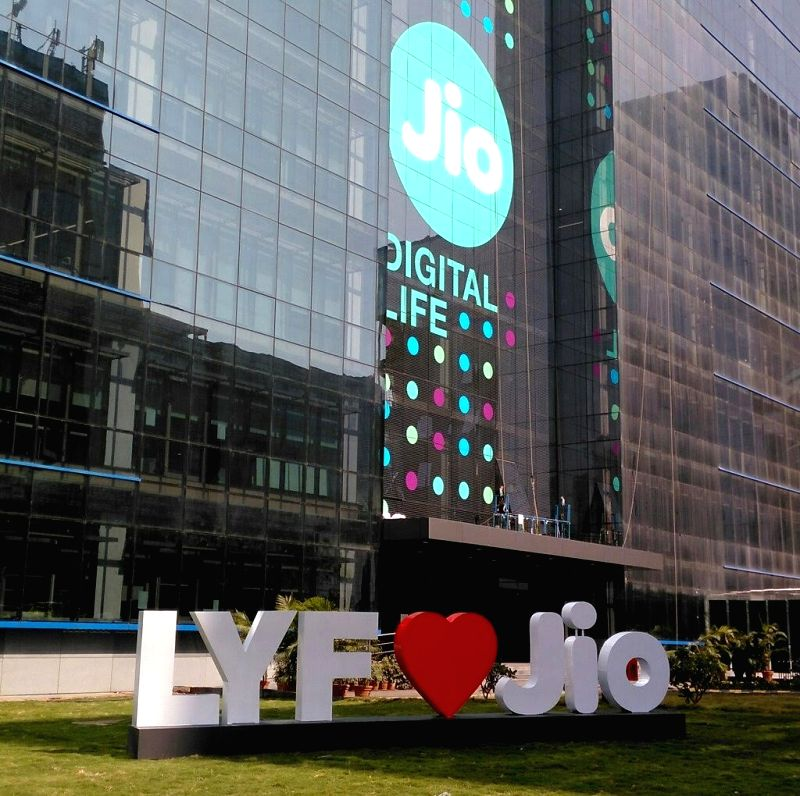 s of 'LYF' device and 'Jio' (File Photo: IANS)
