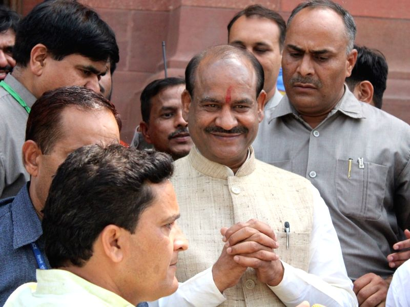 Lok Sabha Speaker Om Birla. (Photo: Amlan Paliwal/IANS)