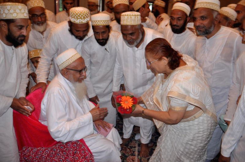 Lok Sabha Speaker Sumitra Mahajan during a programme in Indore on July 28, 2014.