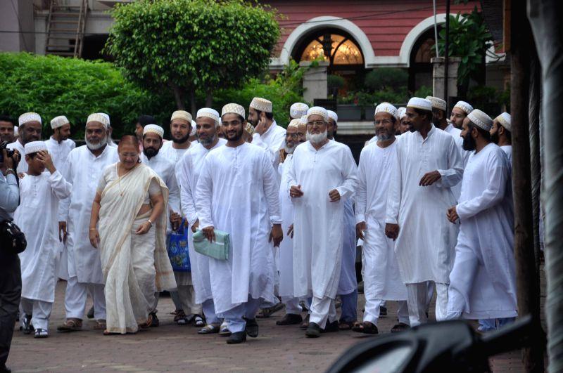 Lok Sabha Speaker Sumitra Mahajan during a programme in Indore on July 28, 2014.
