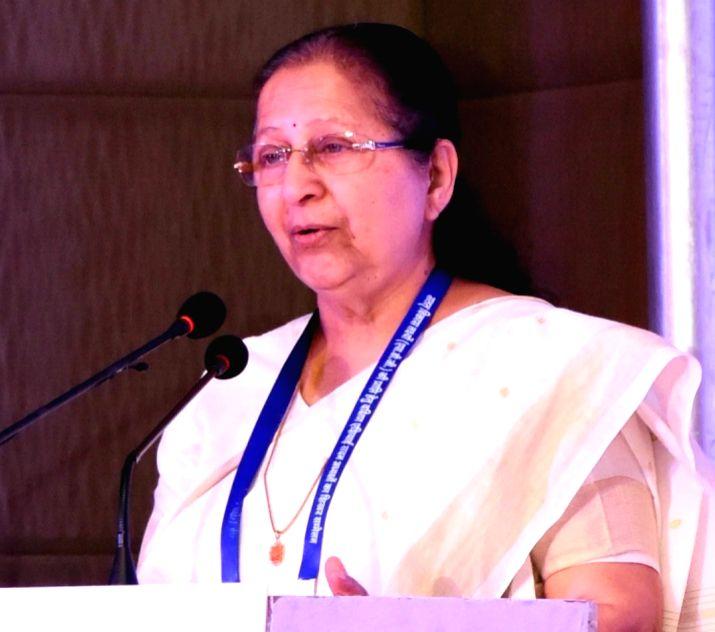 Lok Sabha Speaker Sumitra Mahajan. (Image Source: IANS)