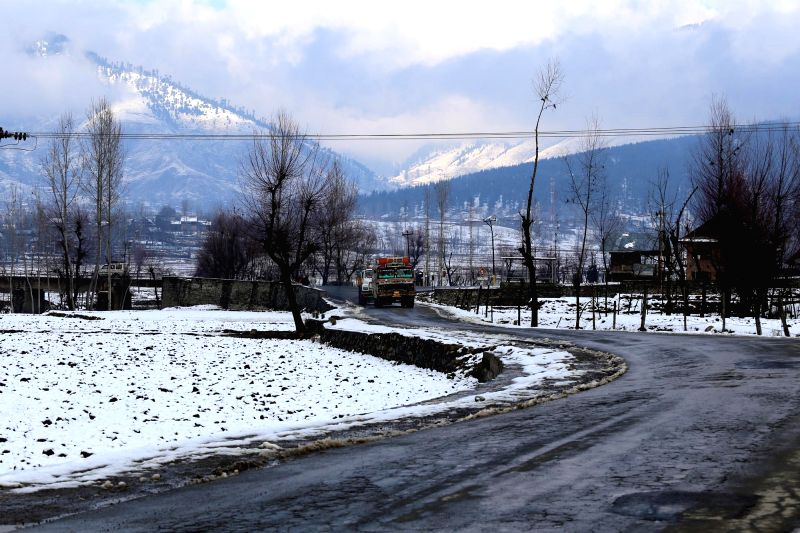 A spectacular view of Lolab Valley in Jammu and Kashmir's Kupwara district on Jan 22, 2015.