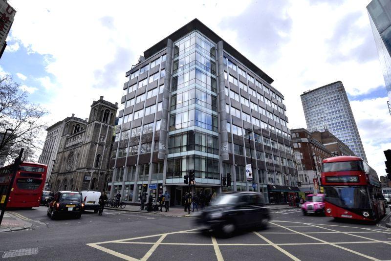britain london cambridge analytica office building. Black Bedroom Furniture Sets. Home Design Ideas