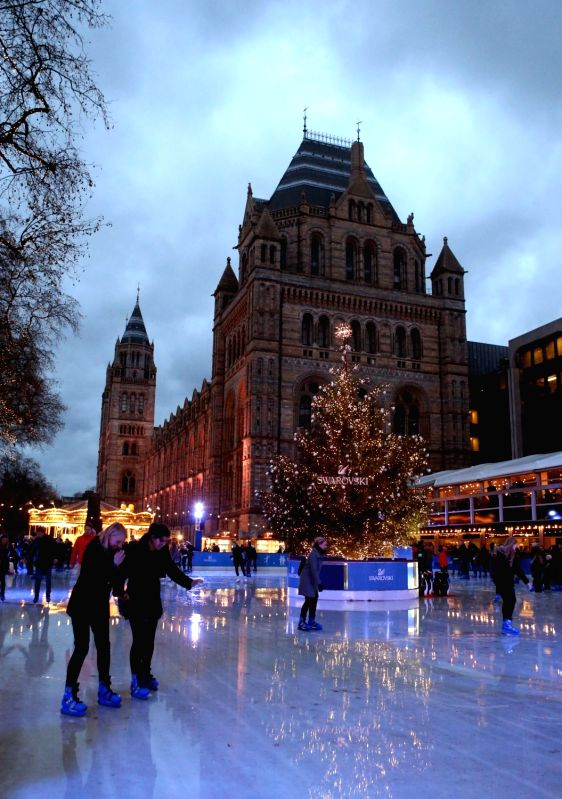LONDON, May 18, 2016 - File Photo taken on Dec. 5, 2015 shows the Natural History Museum in London, Britain. International Museum Day is celebrated every year on or around May 18 under the ...