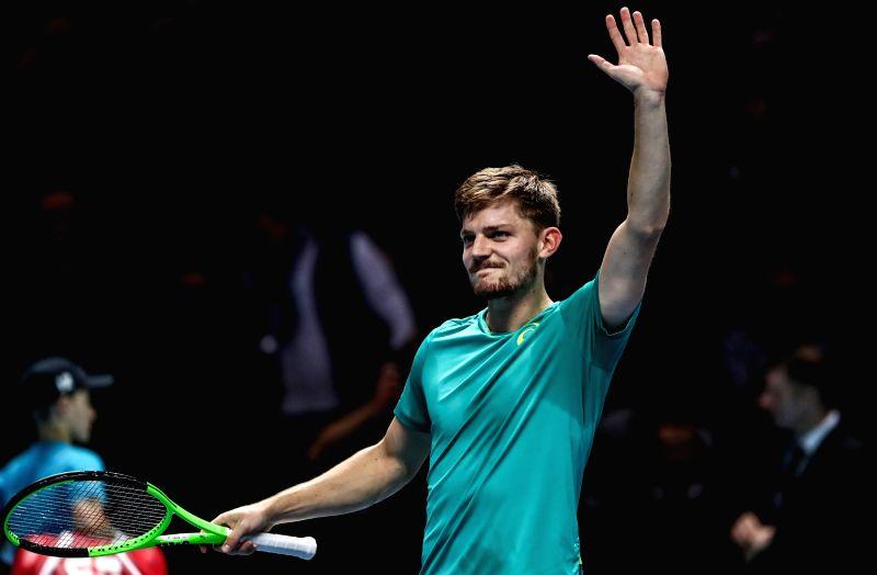 BRITAIN-LONDON-TENNIS-ATP FINALS-GOFFIN VS THIEM