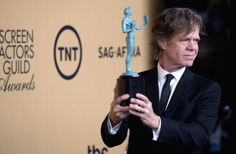 Actor William H.Macy wins the Best Actor In Comedy Series at the 21st Annual Screen Actors Guild Awards at the Shrine Auditorium, in Los Angeles, California, on - William H.