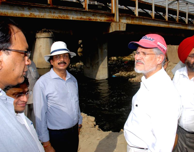 Lt. Governor Najeeb Jung and officers of the Lt. Governor's Secretariat today inspected a number of drains and nallahs located in different parts of Delhi, to assess the work done on de-silting of ...