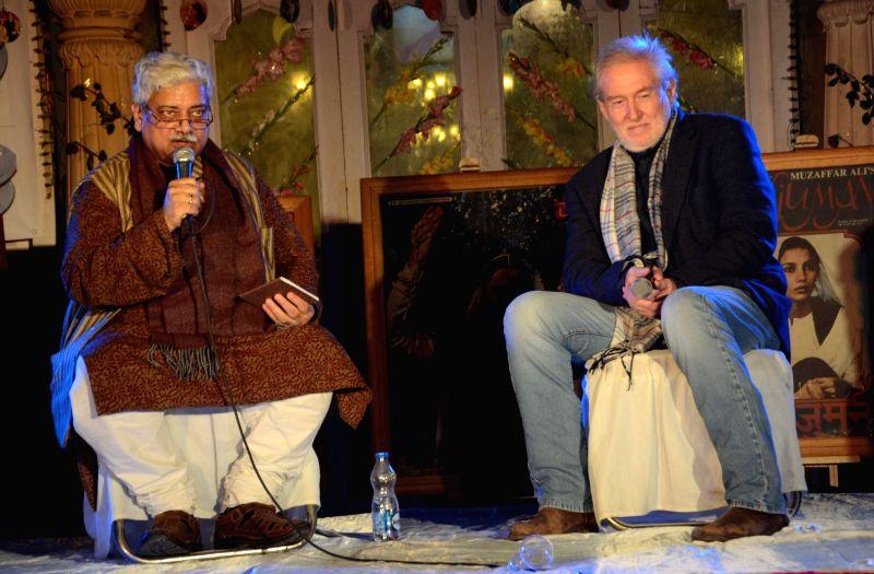 Actor Tom Alter at Mahindra Sanatkada Lucknow Festival 2015 in Lucknow, on Feb 6, 2015. - Tom Alter