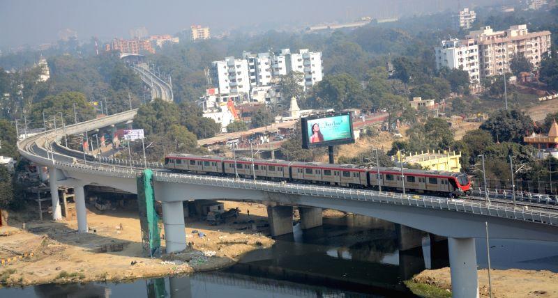 Lucknow metro. (File Photo: IANS)