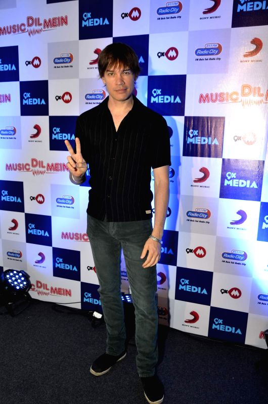 Luke Kenny during the launch of music video `Music dil mein` composed by Rochak Kohli for the apt occasion of World Music Day in Mumbai on Friday, June 20, 2014. - Rochak Kohli