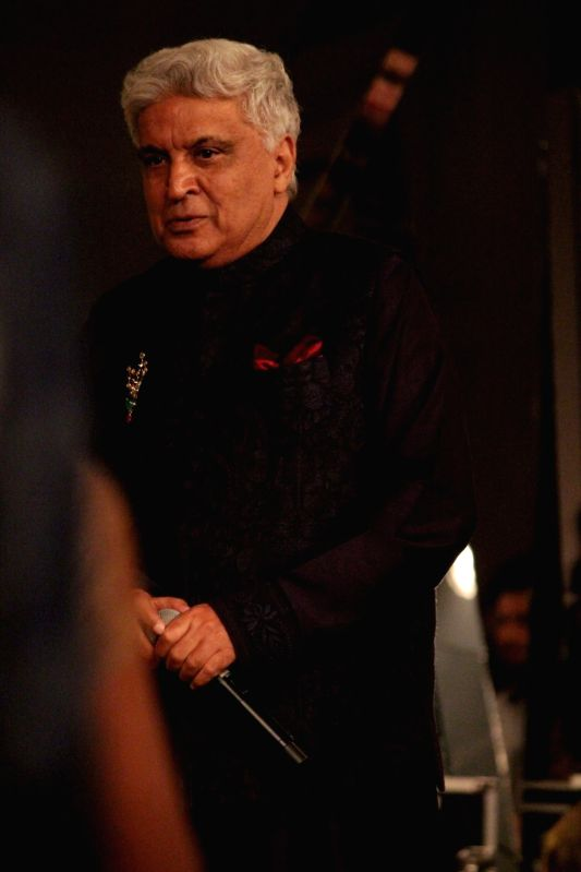 Lyricist Javed Akhtar during the Mijwan Summer 2017 fashion show during the Mijwan Summer 2017 fashion show in Mumbai on March 5, 2017.