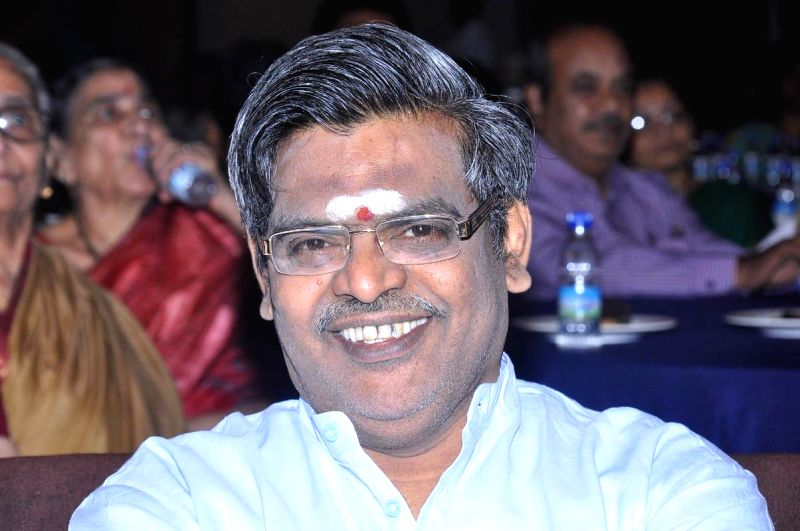 Lyrisist Sirivennela during the launch of telugu film Anamika audio release function held at Hyderabad