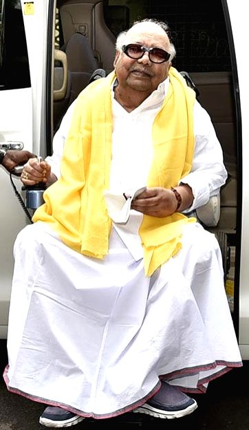 :M. Karunanidhi. (File Photo: IANS).