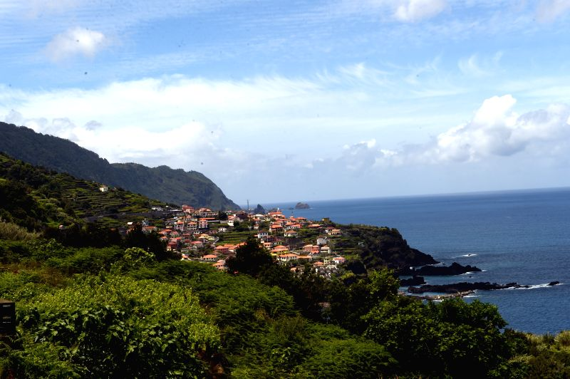 MADEIRA, May 11, 2017 - Photo taken on May 8, 2017 shows a view of Madeira Island, Portugal.