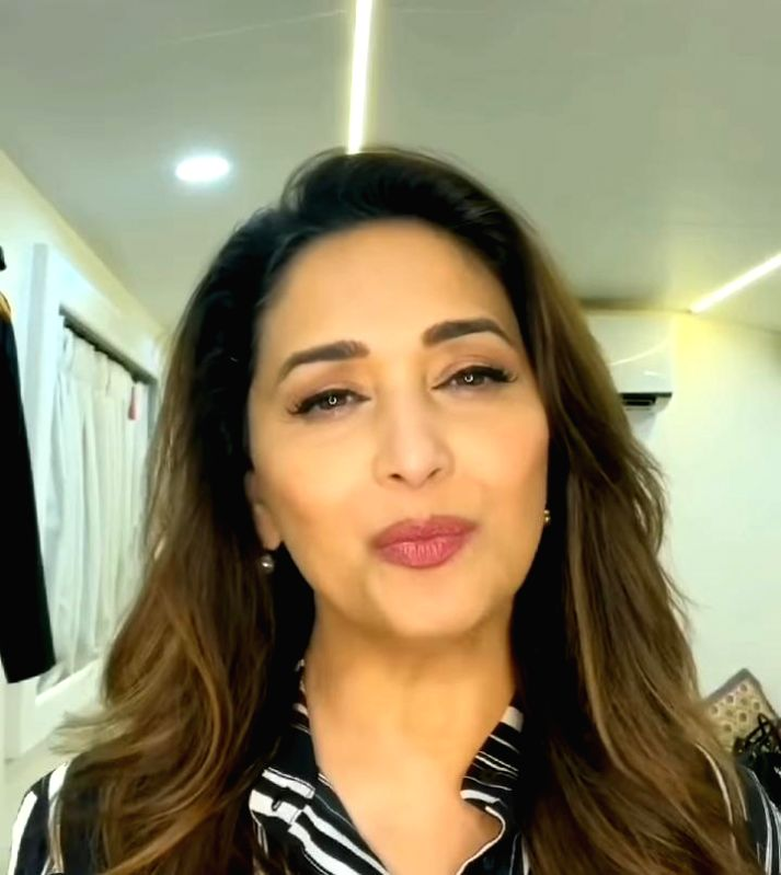 Madhuri Dixit: Wear your masks and get vaccinated as soon as possible (Photo:Instagram)