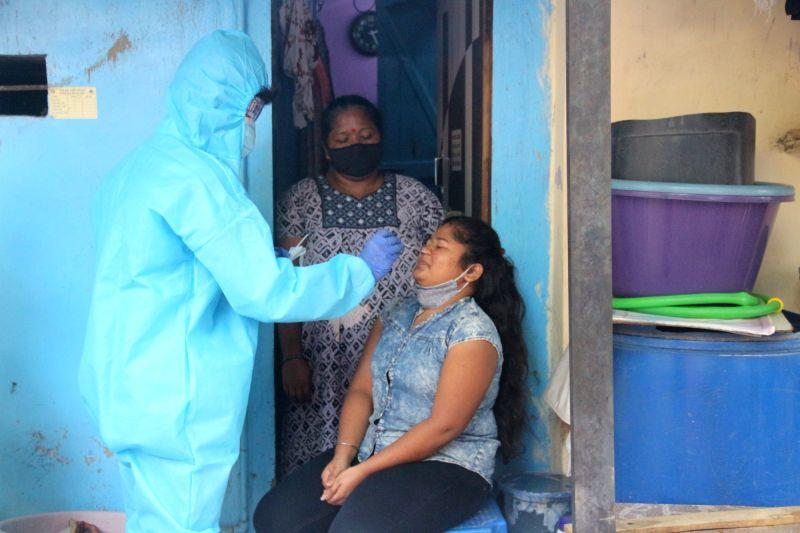 Maha Covid spike: Mantralaya to work in two shifts (Photo: Sandeep Mahankal/IANS)