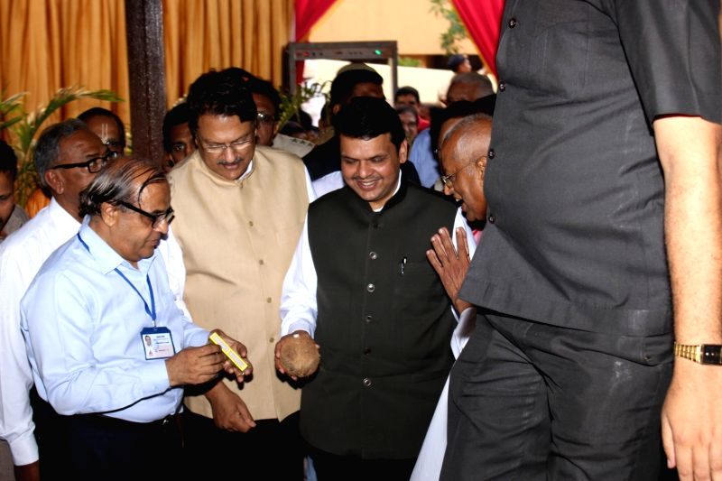 Maharashtra Chief Minister Devendra Fadnavis during the inauguration ceremony of food canteen in Cooper hospital in Mumbai on May 5, 2016. - Devendra Fadnavis