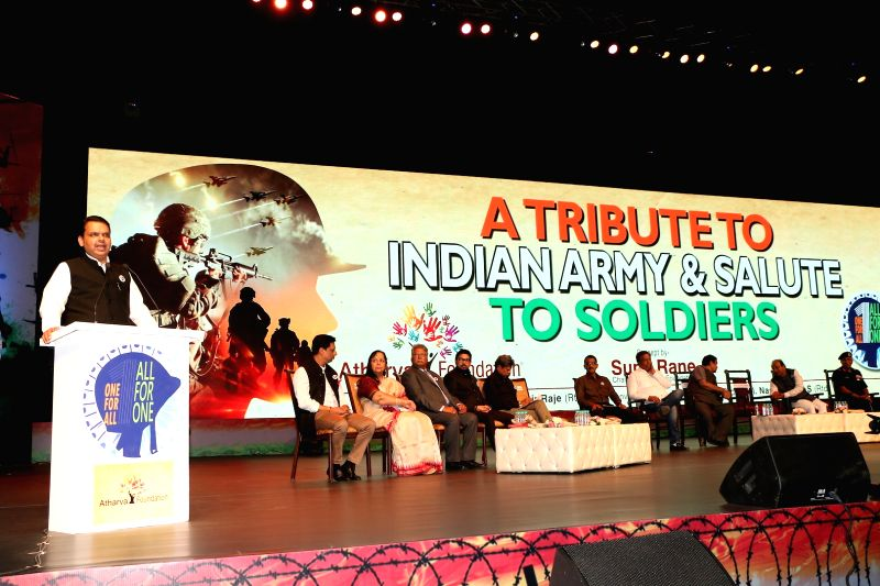 Maharashtra Chief Minister Devendra Fadnavis during a programme in Mumbai on Jan 31, 2018. - Devendra Fadnavis
