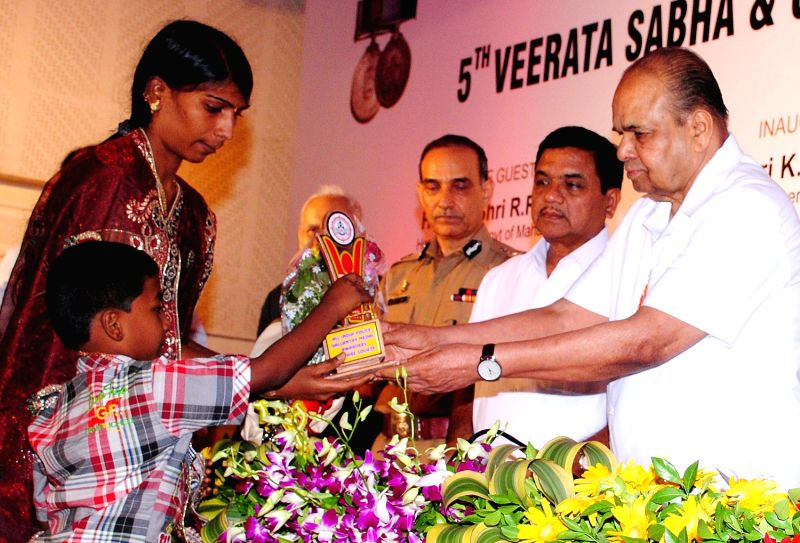 All India Police Gallantry Medal Awards Welfare Association in Mumbai - R R Patil and Satyapal Singh