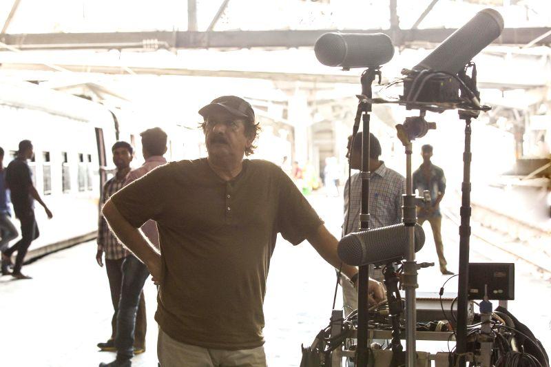 Majid Majidi shoots at CST Station