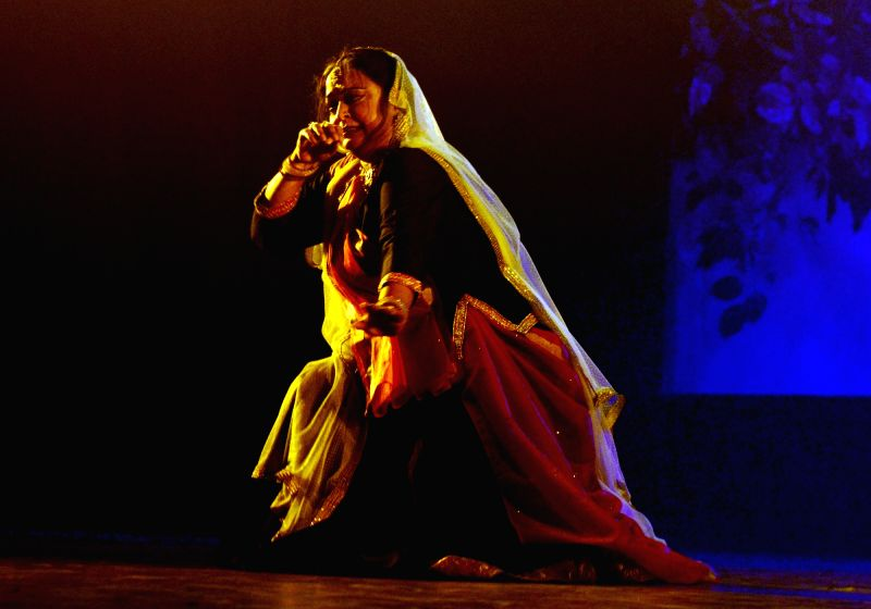 Mamta Maharaj performing in the Karuna Rasa
