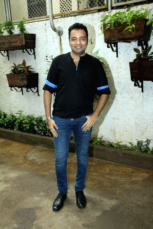 Marathi filmmaker Nikhil Mahajan during the trailer launch of Marathi film Baji in Mumbai, on August 1, 2014. - Nikhil Mahajan