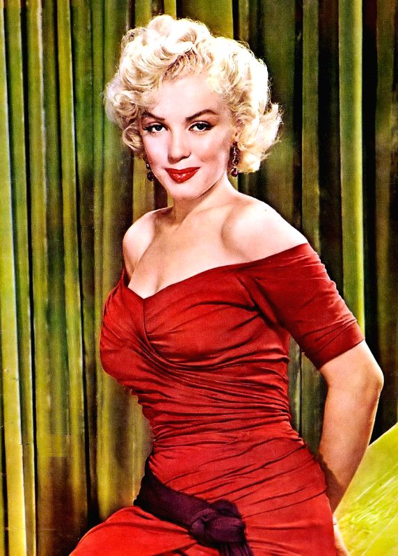 Marilyn Monroe at the beginning of her stardom
