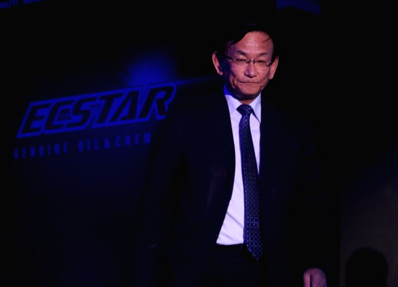 Maruti Suzuki CEO and Managing Director Kenichi Ayukawa  at the launch of  Ecstar Engine Oil OW16, in New Delhi, on July 19, 2018.