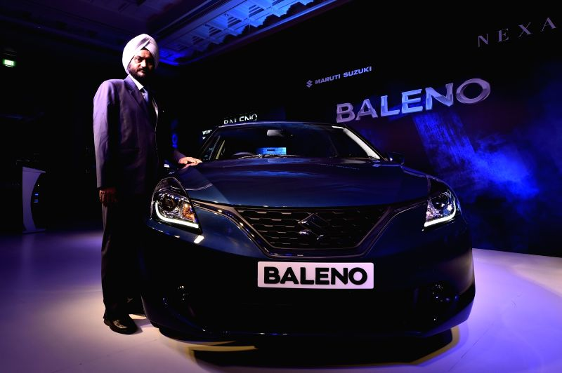 Maruti Suzuki India Executive Director (Marketing and Sales) R S Kalsi during the launch of its premium hatchback Baleno in Chennai on Oct 28, 2015.