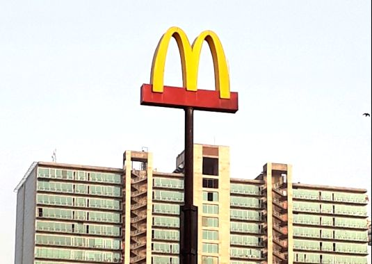 McDonald's. (Image Source: IANS)
