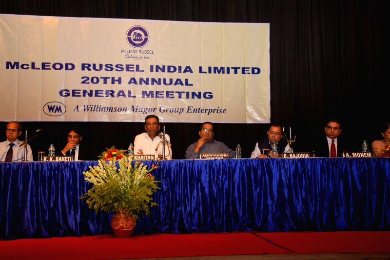Mcleod Russel (India) Ltd. Board of Directors during the company's 18th Annual General Meeting (AGM) meeting, in Kolkata on Aug 9, 2018.